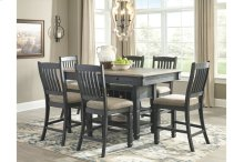 Dining Pub Table & 6 Chairs