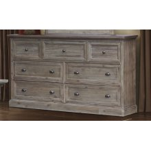 CF-3000 Bedroom  7 Drawer Dresser