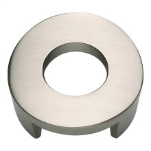Centinel Round Knob 1 1/4 Inch (c-c) - Brushed Nickel
