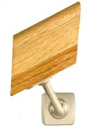 Handrail Bracket w/Small Art Deco Rose Product Image