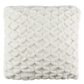 3D-DIAMOND PILLOW - Ivory
