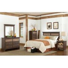 Standard Furniture 68150 Weatherly Panel Bedroom set Houston Texas USA Aztec Furniture