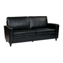 Sofa With Espresso Finish Legs