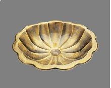 B0015 - Shell - Lavatory - Antique Brass