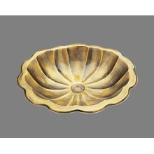 B0015 - Shell - Lavatory - Antique Brass