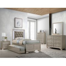 Crown Mark B4399 Lyssa Twin Trundle Bedroom