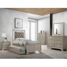 Crown Mark B4399 Lyssa Full Trundle Bedroom