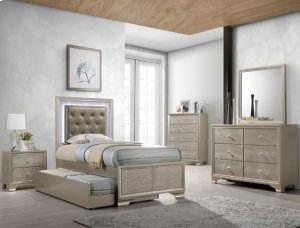 Crown Mark B4399 Lyssa Twin Trundle Bedroom