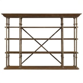 European Farmhouse - L'acrobat Open Air Shelf In Blond