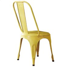Metal Chair, Yellow