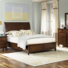 Queen Storage Bed, Dresser & Mirror, Chest, N/S Product Image