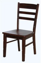 Santa Fe Ladder Back Chair W/wooden Seat Product Image