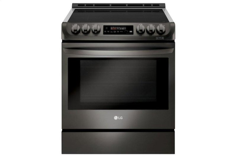6 3 cu  ft  Smart wi-fi Enabled Induction Slide-in Range with ProBake  Convection® and EasyClean®