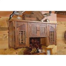 Stony Brooke - 4 Door Hanging Back Bar Cupboard