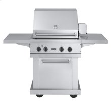 """Stainless Steel 30"""" Ultra-Premium T-Series Gas Grill - VGBQ (30"""" wide with two standard 25,000 BTU stainless steel burner grill areas (LP/Propane))"""