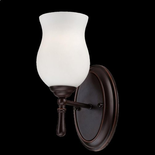 1-LIGHT WALL SCONCE - Oil Rubbed Bronze