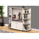 BOOKCASE - BEIGE / GOLD / STORAGE UNIT Product Image