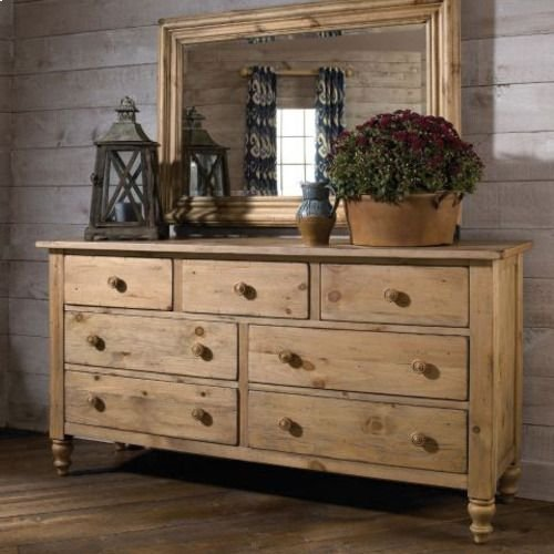 Homecoming Pine Triple Dresser