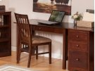 Mission Desk with Drawer in Walnut Product Image