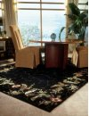 Julian Jl46 Blk Rectangle Rug 3'6'' X 5'6''
