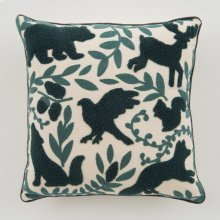 Forest Pillow - Navy