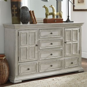 Liberty Furniture Industries2 Door 6 Drawer Dresser