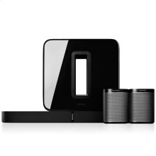 Black- System includes Playbase, Sub and 2 Play:1s.