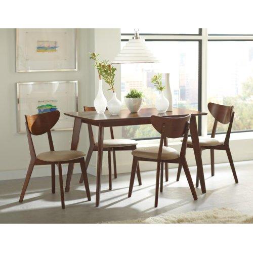 Kersey Retro Chestnut Dining Table