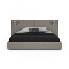 Upholstered bed, queen or king