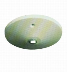 Pendant assembly Top Plate for flat ceiling