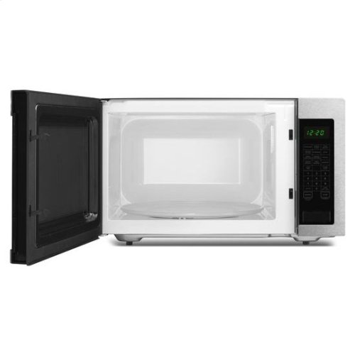2.2 Cu. Ft. Countertop Microwave with Add :30 Seconds Option - black