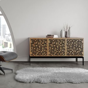 Bdi FurnitureTriple Wide Cabinet W Console Base in Environmental