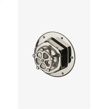Regulator Thermostatic Control Valve Trim with Metal Wheel Handle STYLE: RGTH02