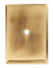 Traditional Backplate A610-14 - Polished Antique