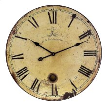 Large Wall Clock with Pendulum