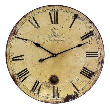 Large Wall Clock with Pendulum