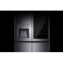 LG SIGNATURE 23 cu. ft. Smart wi-fi Enabled InstaView Door-in-Door® Counter-Depth Refrigerator