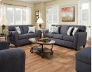 3100 - Uptown Denim Sofa Product Image