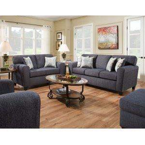 American Furniture Manufacturing3100 - Uptown Denim Sofa