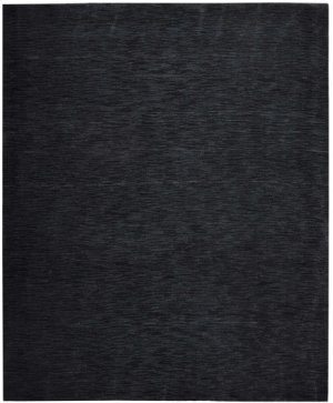 Christopher Guy Mohair Collection Cgm01 Noir Rectangle Rug 10' X 14'