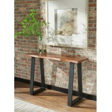 Industrial Grey Sheesham Sofa Table