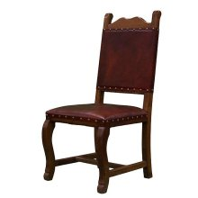 Hacienda Leather Seat & Back Chair