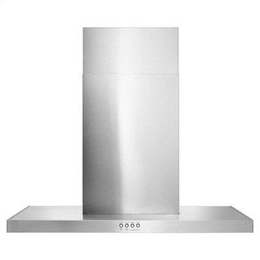 "30"" Stainless Steel Wall Mount Flat Range Hood - stainless steel"