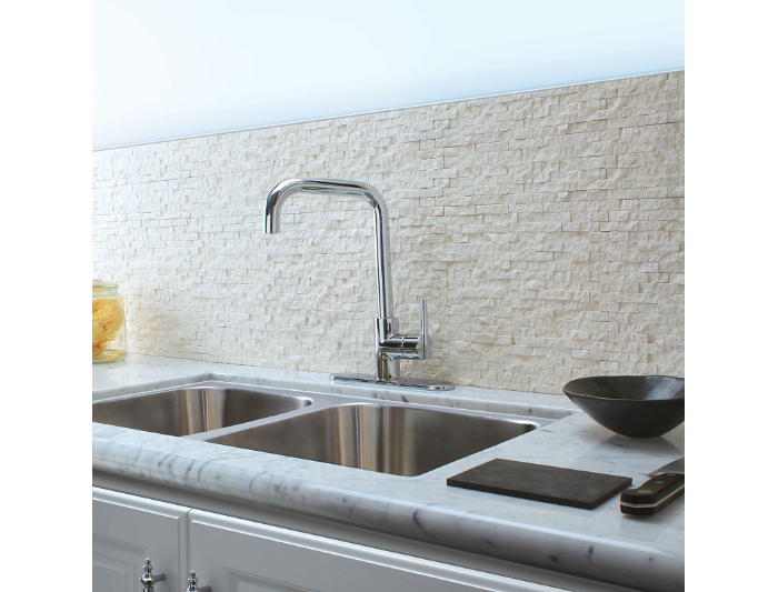 Hidden · Additional Polished Chrome Fullerton 1 Handle Kitchen Faucet