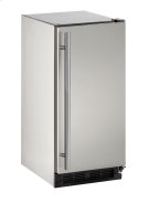 "Outdoor Series 15"" Outdoor Refrigerator With Stainless Solid Finish and Field Reversible Door Swing Product Image"