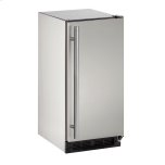 "u-lineOutdoor Series 15"" Outdoor Refrigerator With Stainless Solid Finish and Field Reversible Door Swing"