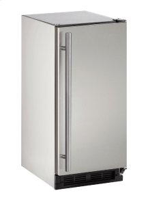 "Outdoor Series 15"" Outdoor Refrigerator With Stainless Solid Finish and Field Reversible Door Swing"