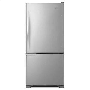 30-inches wide Bottom-Freezer Refrigerator with Accu-Chill System - 18.7 cu. ft. - STAINLESS STEEL