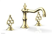 MAISON Deck Tub Set 164-40 - Polished Brass