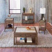 3 Piece Set (1-Cocktail 2-End Tables) Product Image
